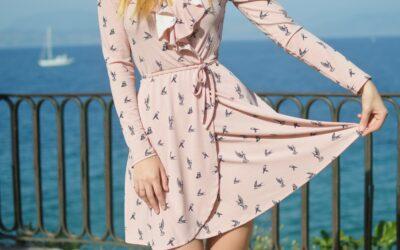 A-View kjole – feminin og simpel